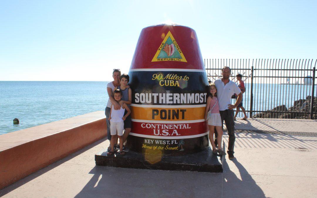La navigation reprend son cours… Cabotage le long des côtes de Floride