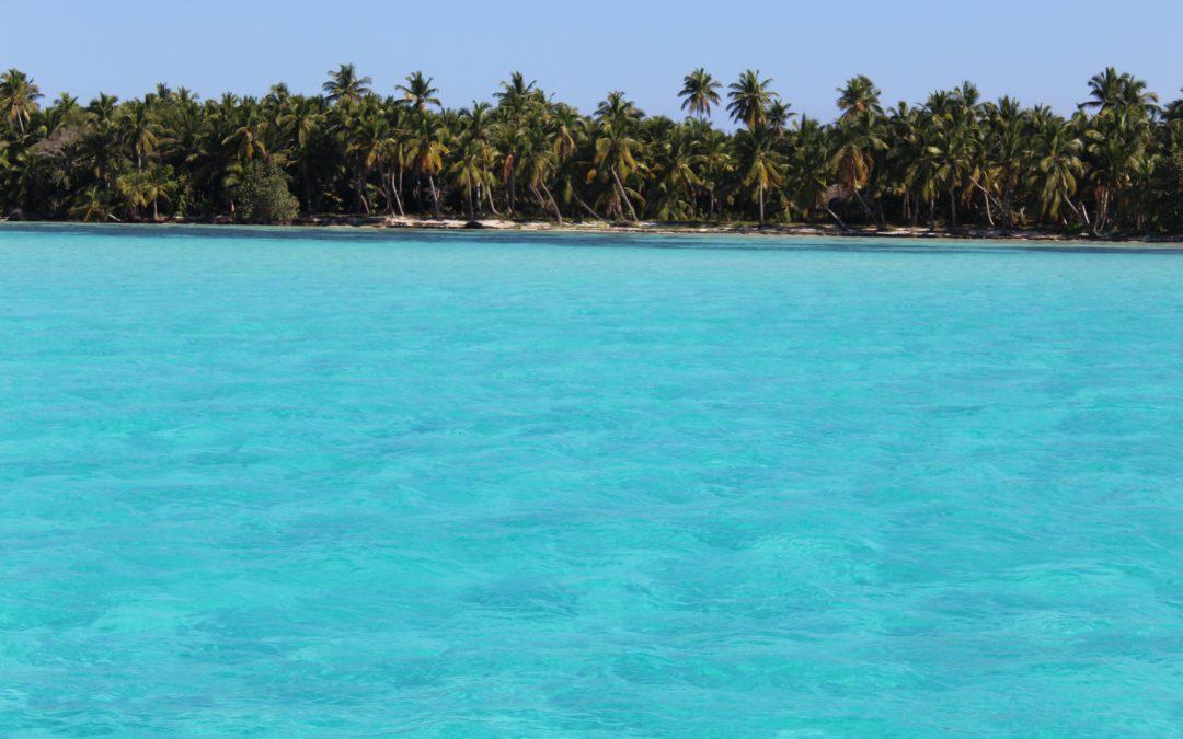 Cabotage le long de la côte sud de la République Dominicaine…