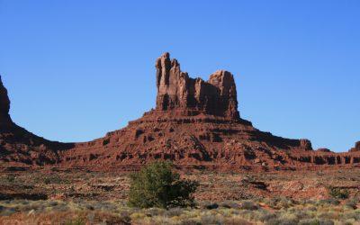 Décors hollywoodiens lors de la traversée de Navajoland…